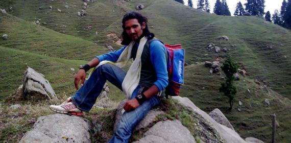 June July 2009 Kamrunag Vally Karsog Mandi Gohar Himachal Inder Singh